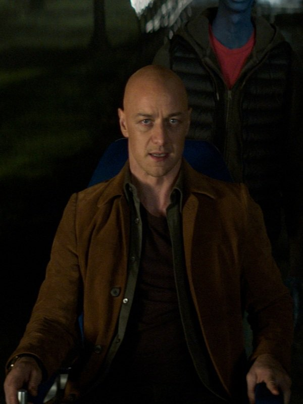 Dark Phoenix James McAvoy Leather Jacket