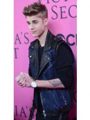 Justin Bieber Motorcycle Leather Vest
