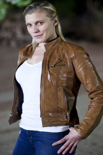 Longmire Victoria Moretti Brown Jacket