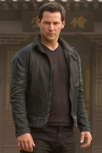 Keanu Reeves Man of Tai Chi Donaka Mark Jacket