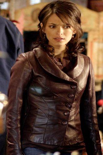 Smallville Lana Lang Brown Jacket