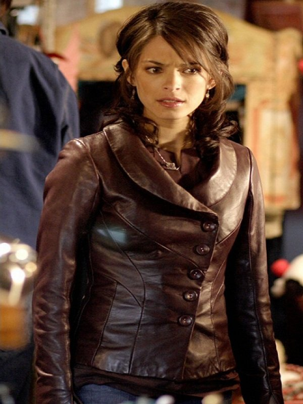 Smallville Lana Lang Brown Jacket