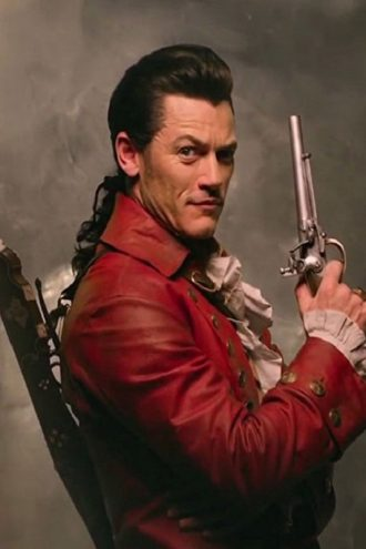 Beauty and the Beast Luke Evans Leather Coat