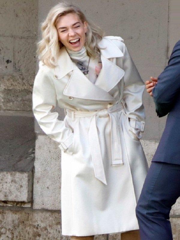MI6 Fallout The White Widow Coat