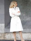 MI6 Fallout The White Widow Cotton Coat