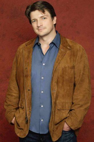 Crime TV Series Castle Joe Flynn Brown Jacket