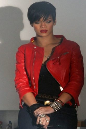 Rihanna Take A Bow Music Video Leather Jacket