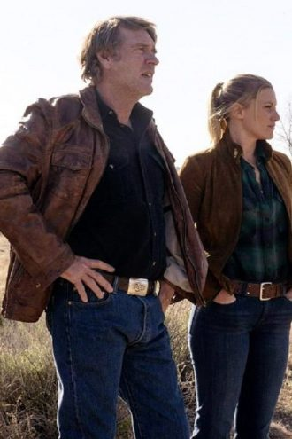 Robert Taylor Sheriff Walt Longmire Leather Jacket