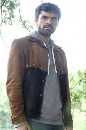 Sean Teale The Gifted Marcos Diaz Leather Jacket
