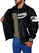Supreme Varsity Leather Jacket