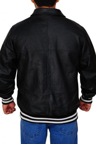 Men's Supreme Black Leather Jacket