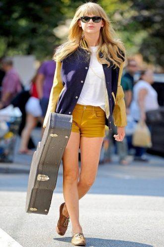 Elegant Taylor Swift Varsity Jacket