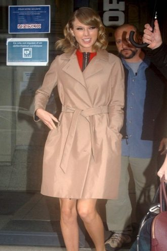 Taylor Swift Winter Coat