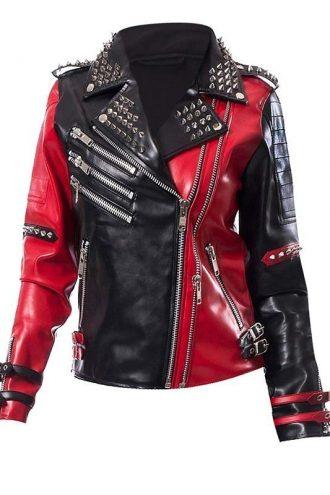 WWE Toni Storm Studded Leather Jacket