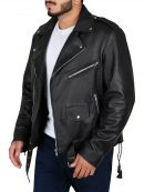 Fallout 4 Atom Cats Logo Design Leather Jacket