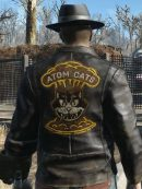 Fallout 4 Atom Cats Cosplay Leather Jacket