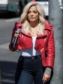 Bebe Rexha The Way I Are Leather Jacket