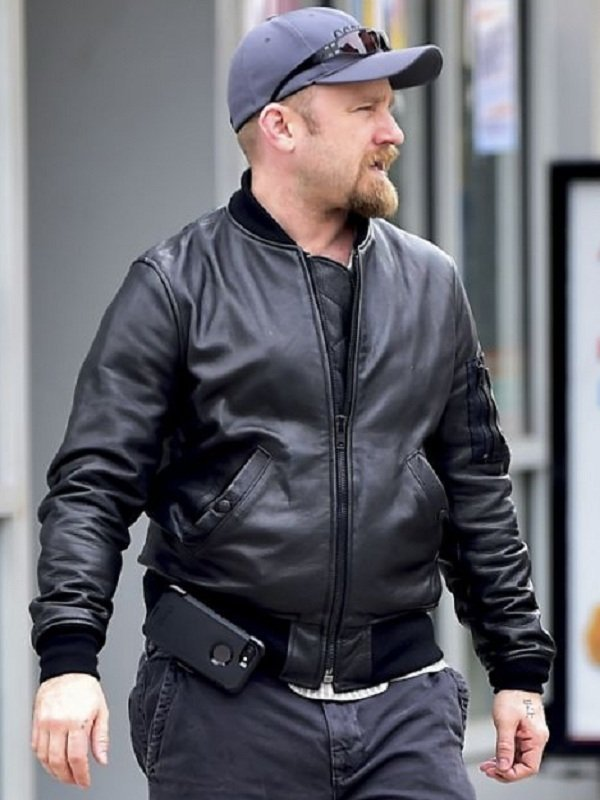 American Actor Benjamin A Foster Leather Jacket