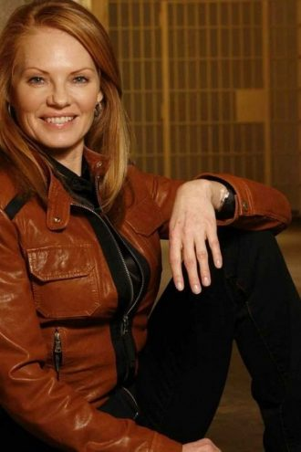 CSI Marg Helgenberger Leather Jacket