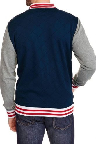Marvel Comics Superhero Captain America Varsity Jacket