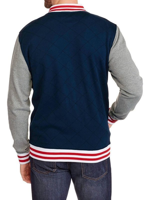 Marvel Comics Superhero Captain America Varsity Jacket