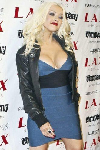 Luxor Lady Christina Aguilera Leather Jacket