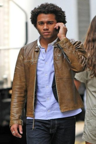 Corbin Bleu Reivers Leather Jacket