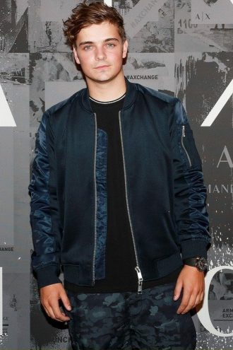 Martin Garrix Armani Exchange Event Jacket