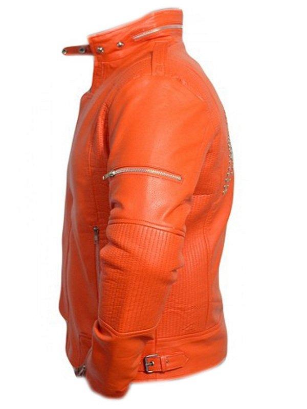 Daft Punk Stylish Orange Jacket
