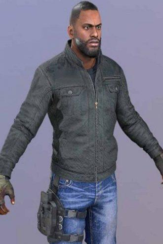 Isaac Tremaine Cosplay Leather Jacket