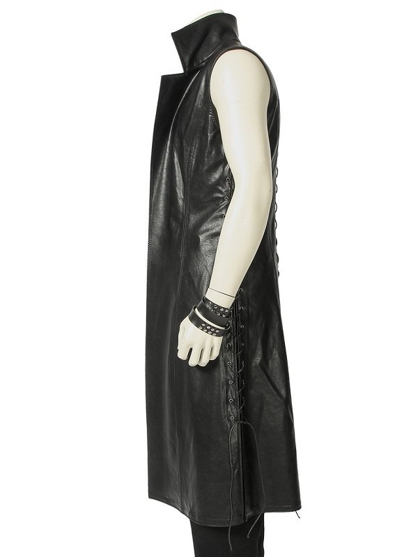 Devil May Cry 5 Kylo Ren Cosplay Leather Coat