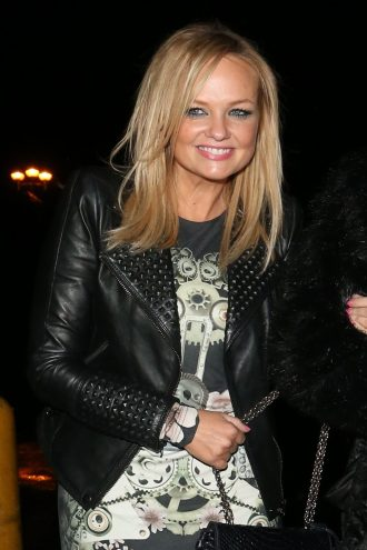 Singer Songwriter Emma Lee Bunton Leather Jacket