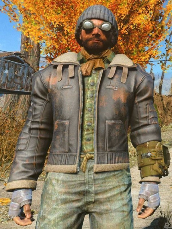 Fallout 4 The Boston Looter Jacket