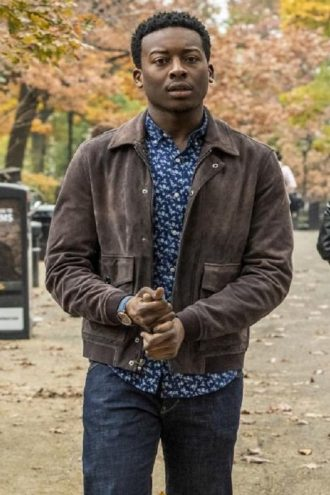 Brandon Micheal Hall God Friended Me Leather Jacket