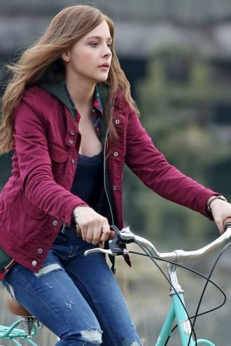 If I Stay Mia Hall Cotton Jacket