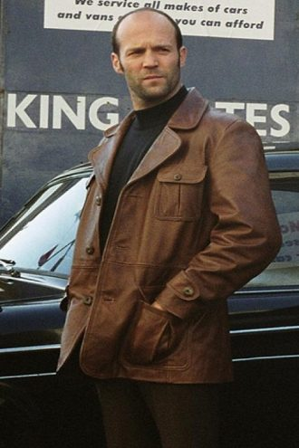 The Bank Job Terry Leather Jacket