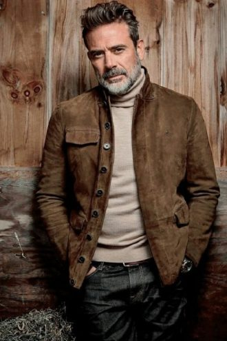 The Walking Dead Negan Suede Brown Jacket