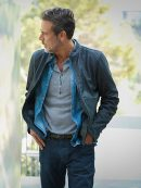 Extant JD Richter Jeffrey Dean Morgan Black Leather Jacket