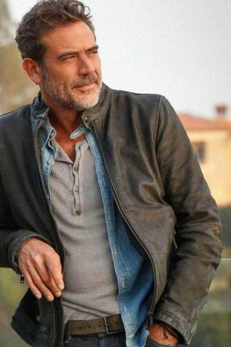 JD Richter Extant Jeffrey Dean Morgan Leather Jacket