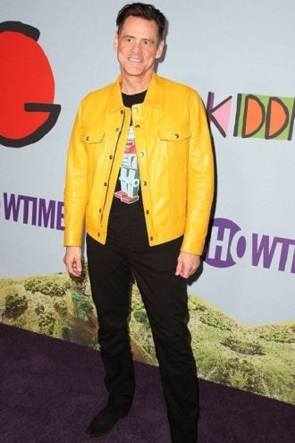 Jim Carrey Yellow Jacket