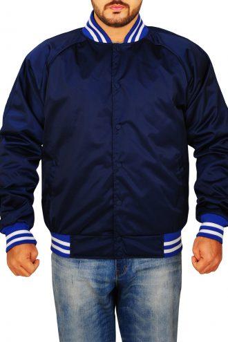 Vox Lux Jude Law Blue Jacket