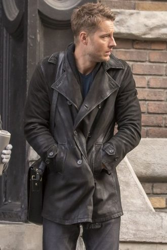 This Is Us Kevin Pearson Leather Coat