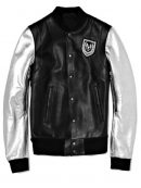 Justin Bieber Balmain Silver Sleeve Jacket