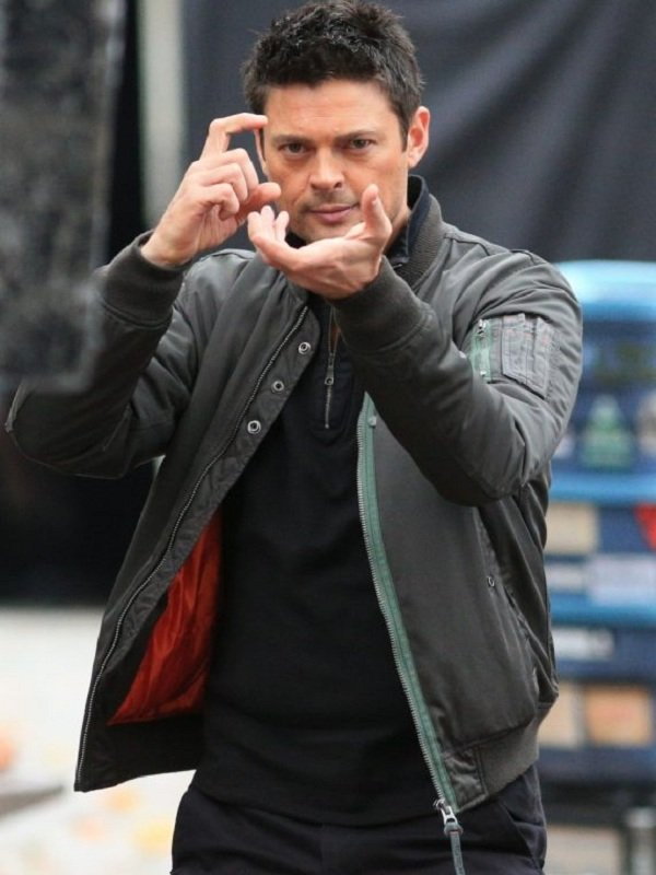 Almost Human Karl Urban Grey Jacket