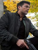 Almost Human Karl Urban Grey Cotton Jacket
