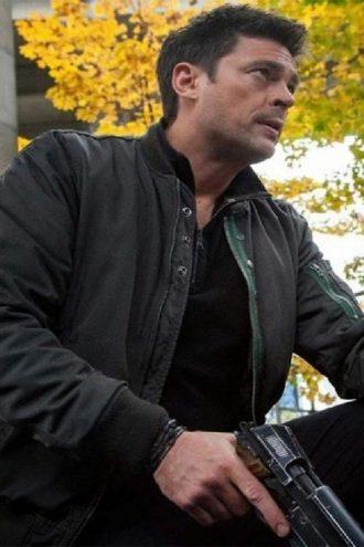 Almost Human Karl Urban Grey Cotton Jacket