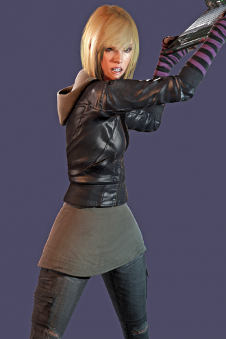 Video Game Dead Rising 3 Katey Greene Jacket