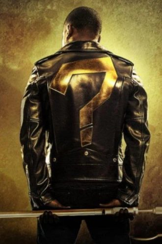 Kevin Hart Black Biker Leather Jacket