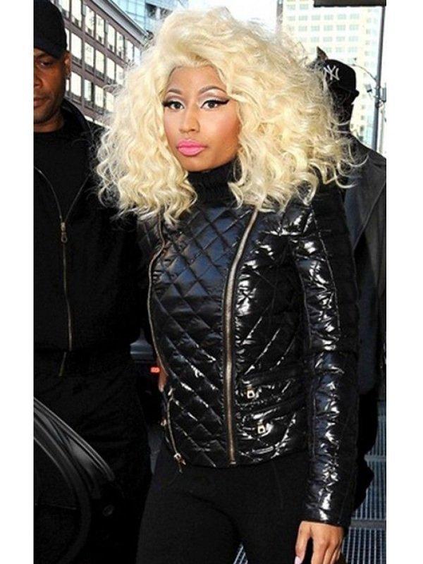 Rapper Nicki Minaj Leather Jacket