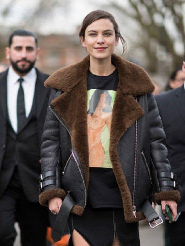 American Singer Nicole Scherzinger Leather Jacket